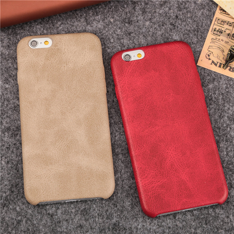 New original leather phone cases for iphone 6 6s 6plus 6splus 7 7plus coque back cover case pu material case retail package(China (Mainland))