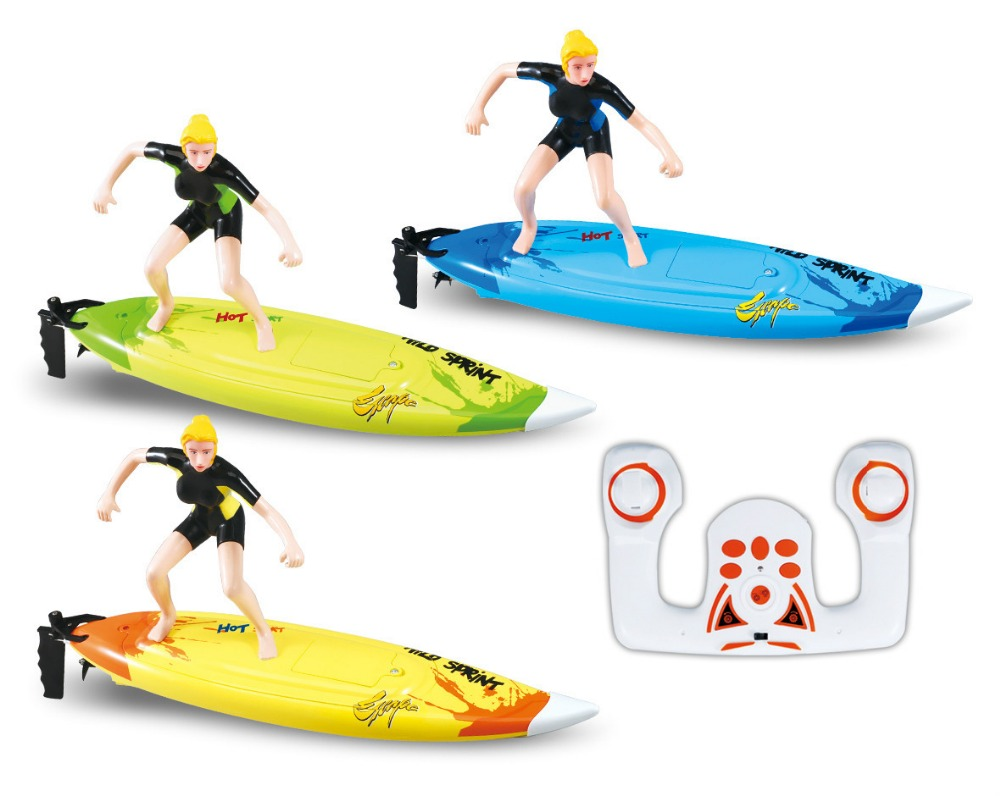 Great Wall 2310 2.4G 4CH High Speed rc boat RC Surf Boat Surfer Surfboard Remote control boat Remote Control Toys Gift For Child(China (Mainland))