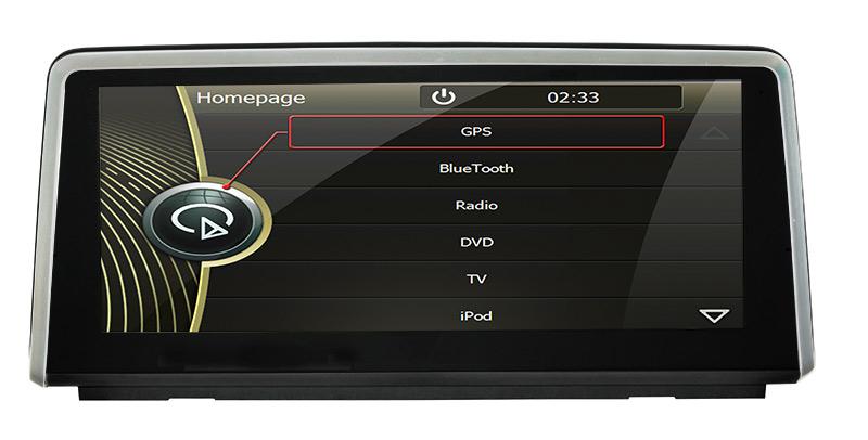 8.8''car Reversing Track function for BMW x1 e84 dvd navigationcar dvr gps radar detector Bluetooth Phonebook USB Touch Screen(China (Mainland))