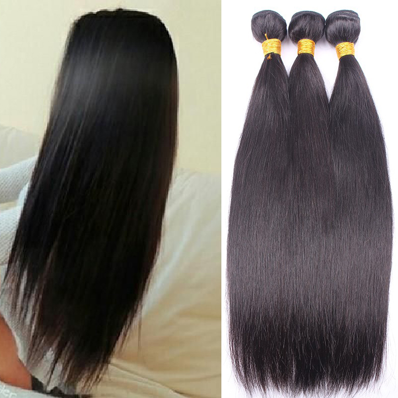 Cambodian Virgin Hair Straight Hair 4pcs 6A Unprocessed Virgin Hair Cambodian Straight Bundle Deals Human Hair Weave Extensions