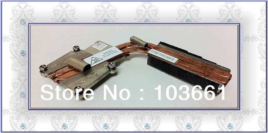 Original 650RY 0650RY AT0FJ0020F0 CPU Heatsink For Dell Alienware M17x R3 laptop CPU Thermal Module(China (Mainland))