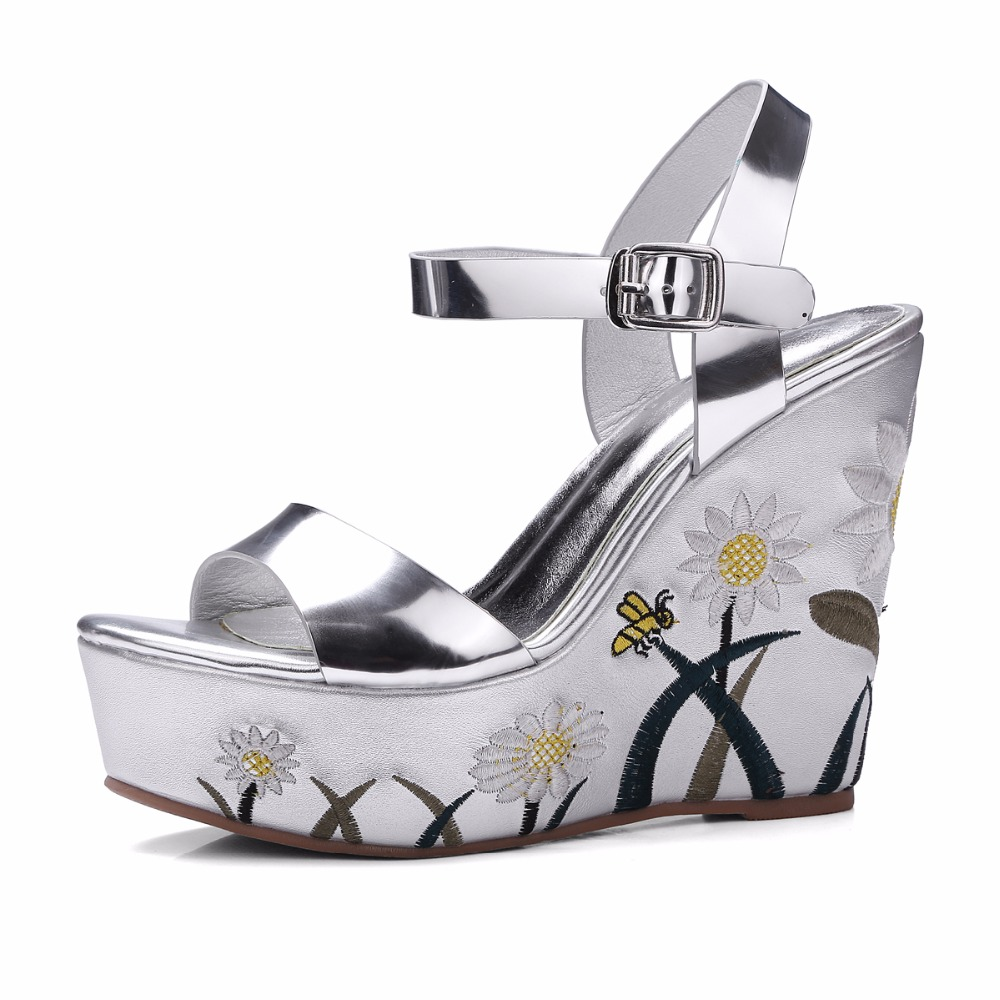 get cheap silver wedges size 11 aliexpress