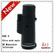 Telescopio solo tubo con alta magnificación visión nocturna no infrarrojos de bolsillo telescopio de gran angular Zoom telescopio
