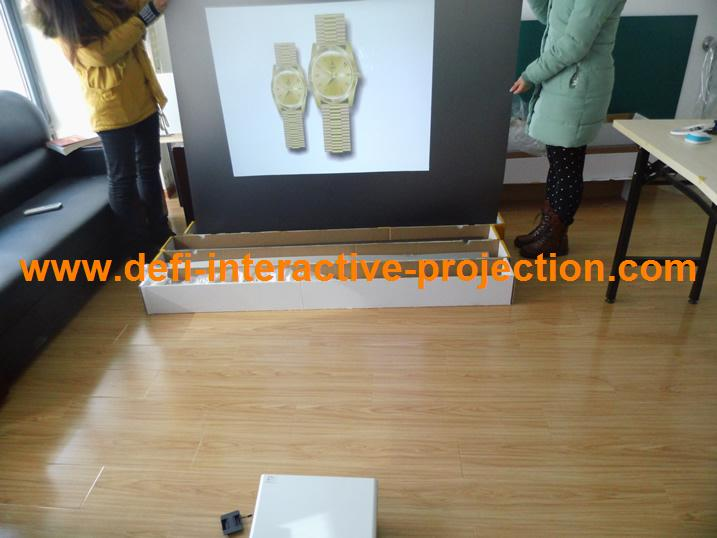 NEW ARRIVE! Low price BLACK projection film,High quality screen, even in high light environments 1/sqm(China (Mainland))