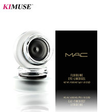 KIMUSE Fluidline Black Gel Eyeliner Water-proof And Smudge-proof  Easy To Wear 24 Hours Long-lasting Natural Cosmetics(China (Mainland))