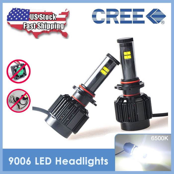 USA Stock 2015 New 1 Set All in one LED Headlight CREE 40W 3600LM 9006 LED Headlamp HB4 Conversion Kit Car Styling Accessories