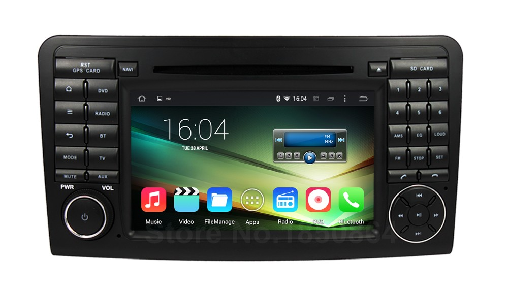 Buy car dvd gps player mercedes benz ml w164 benz gl x164 for Mercedes benz ml350 radio code