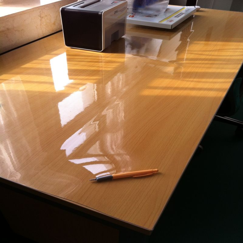 dining table clear plastic cover 2