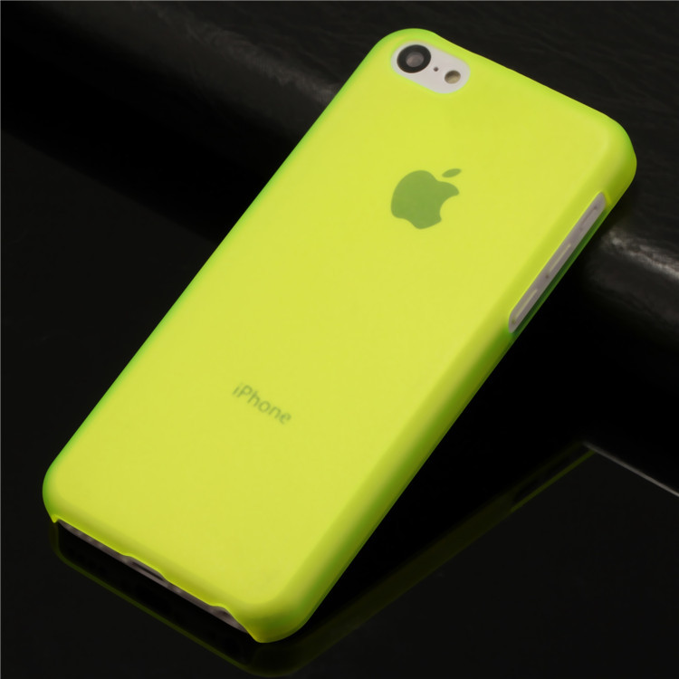 wholesale cell phone case for apple iphone 5c i phone5c matte clear ultra thin slim shield pc hard back cover caso(China (Mainland))
