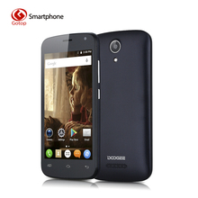 Original Doogee X3 4.5 Inch Smartphone MTK6580M Quad Core Android 5.1 Mobile Phone 1GB RAM 8GB ROM Dual Sim Cards Cell Phone(China (Mainland))