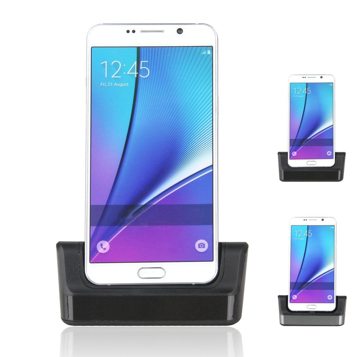 new otg docking station charger cradle charging sync data dock stand micro usb cable for. Black Bedroom Furniture Sets. Home Design Ideas