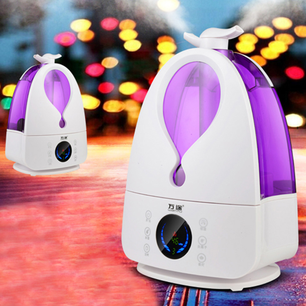 New Arrival Ultrasonic Led Air Humidifier with Night Light Intelligent Aroma diffuser for Houehold <br><br>Aliexpress