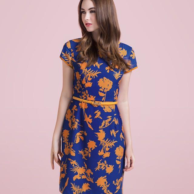 Прямой с круглым вырезом короткая, chinece чонсам стиль vestido де феста рукава печать ретро винтажный dresss