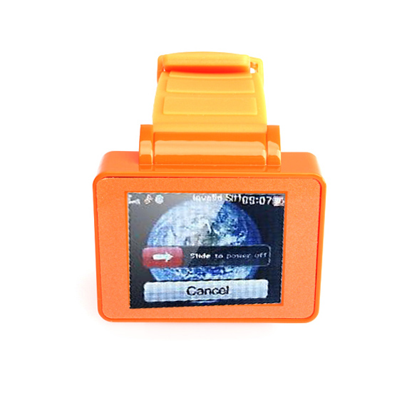 Orange Wrist Watch Cell Phone 1.8''TFT Touch Screen Bluetooth TF Card 88(China (Mainland))
