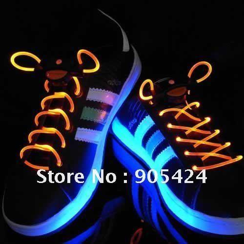 Muti-color Cool  LED Flash Lighting Glow Shoelaces