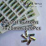 sewing rhinestones 7x21mm