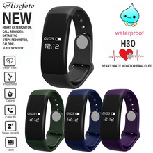 Buy New Smart Bracelet band Bluetooth Smartband Heart Rate Monitor Smart Wristband Tracker Fitness Watch Android & IOS PK H3 D21 for $21.49 in AliExpress store