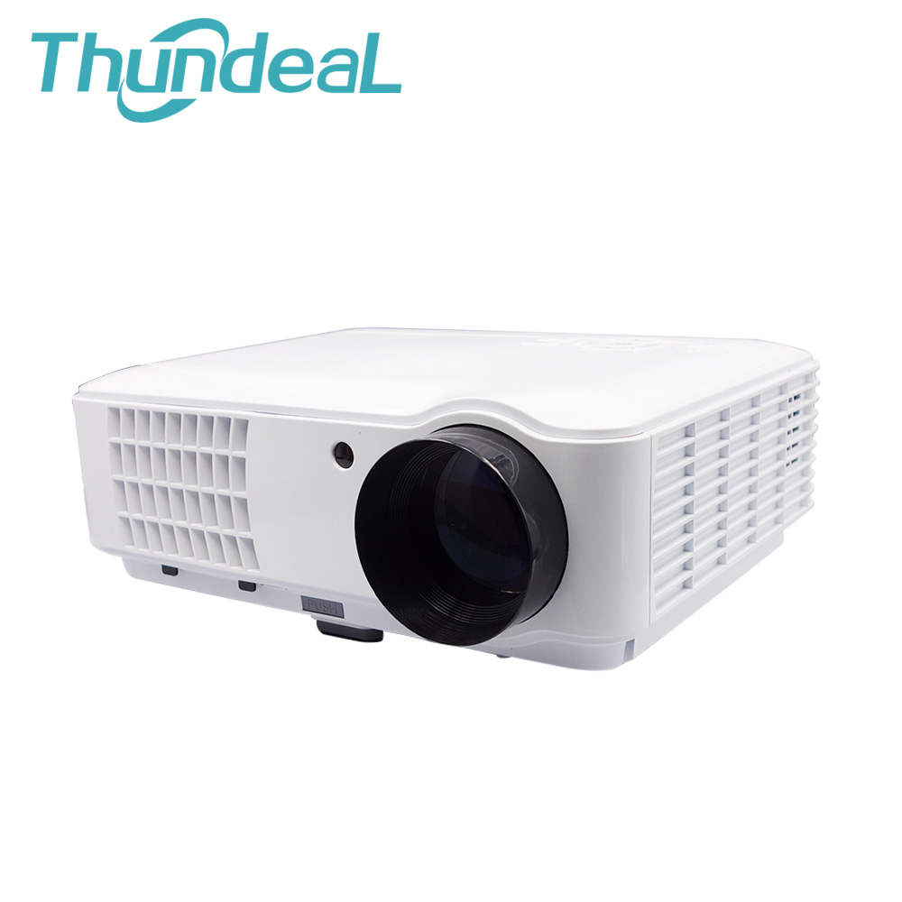 NEW Arrive 2600lumens 1280*800 HD 1080P LED 3D Projector Home Theater RD-804 projektor beamer 2HDMI 2USB TV AV(China (Mainland))