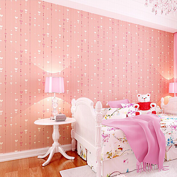 28 girls bedroom wallpaper review compare prices on for Wallpaper for bedroom walls