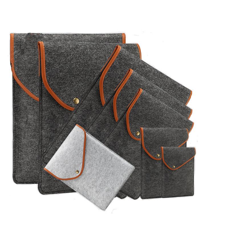 New 11 inch 12 inch 13 inch 15 inch Wool Felt Inner Notebook font b Laptop