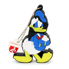 Cute Cartoon Donald Duck USB Flash Drive Pen Drive 4GB 8GB 16GB 32GB 64GB USB 2.0 lovely Pen Drive Memory Stick U Disk pen gift(China (Mainland))
