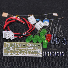 1PCS KA2284 DIY KIT Audio Level Indicator Suite Trousse DIY Electronic Kit Parts 5mm RED Green LED Level Indicating 3.5-12V NEW