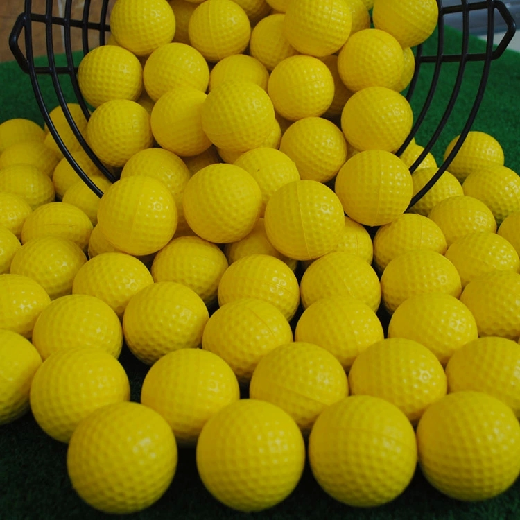 Free shipping new arrival PU sponge ball indoor toy foam solid soft golf ball diameter about 6.2 cm(China (Mainland))
