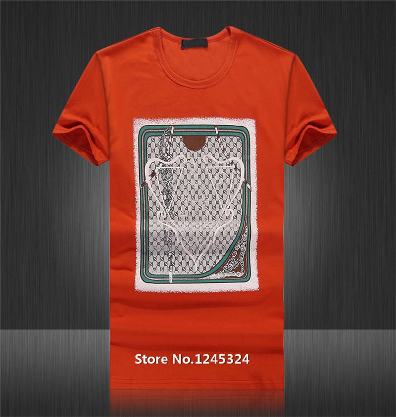 2015 New Arrival Luxury Famous Brand Name T Shirt Men Tshirt Clothing T Shirts Short T-shirt Men Virtuous Fashion Summer Tops(China (Mainland))