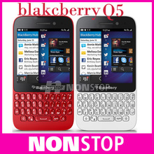Original blackberry Q5 BlackBerry OS 10.1unclocked Mobile Phone 2G/3G/4G Network 2.0+ 5.0MP Dual-core 2G RAM(China (Mainland))
