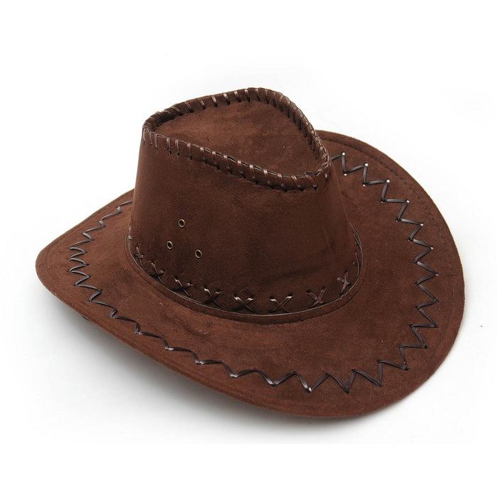 Summer Adult Straw Cowboy Hats Beach Felt Leather Cowboy Hats for Women Men 2016 Fashion Outdoor Chapeu Straw Cowboy Sun Hat(China (Mainland))
