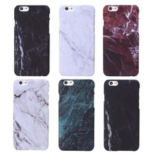 Luxury Retro Marble Stone Painted Cover Mobile Phone Cases For iPhone 6 6s 6 plus 5 5s SE PC Hard Back Covers Case Skin Bags