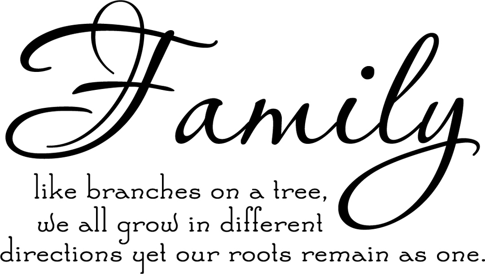 Family Tree Together Love wall Family Tree Poems Quotes