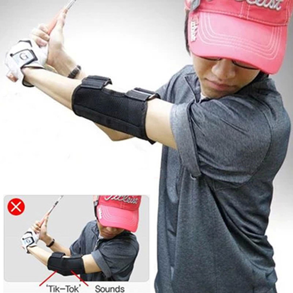 Golf Training Aid Swing Straight Practice Golf Elbow Brace Corrector Support Arc Golf Equipment(China (Mainland))