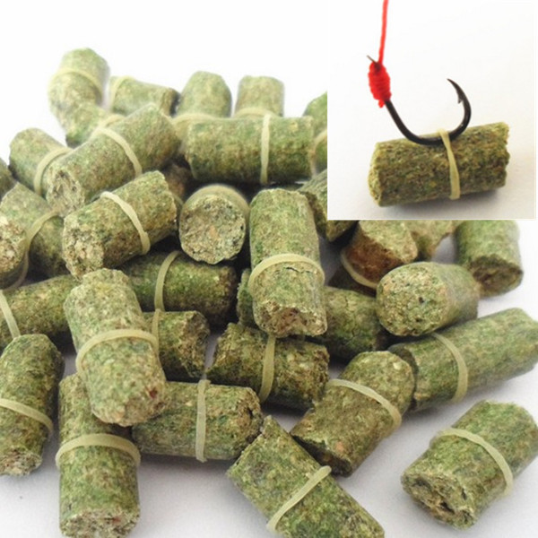 FREE SHIPPING hot sell green carp smell lure grass carp bait insect elastic particle rods suit particle general 21101-100-g(China (Mainland))