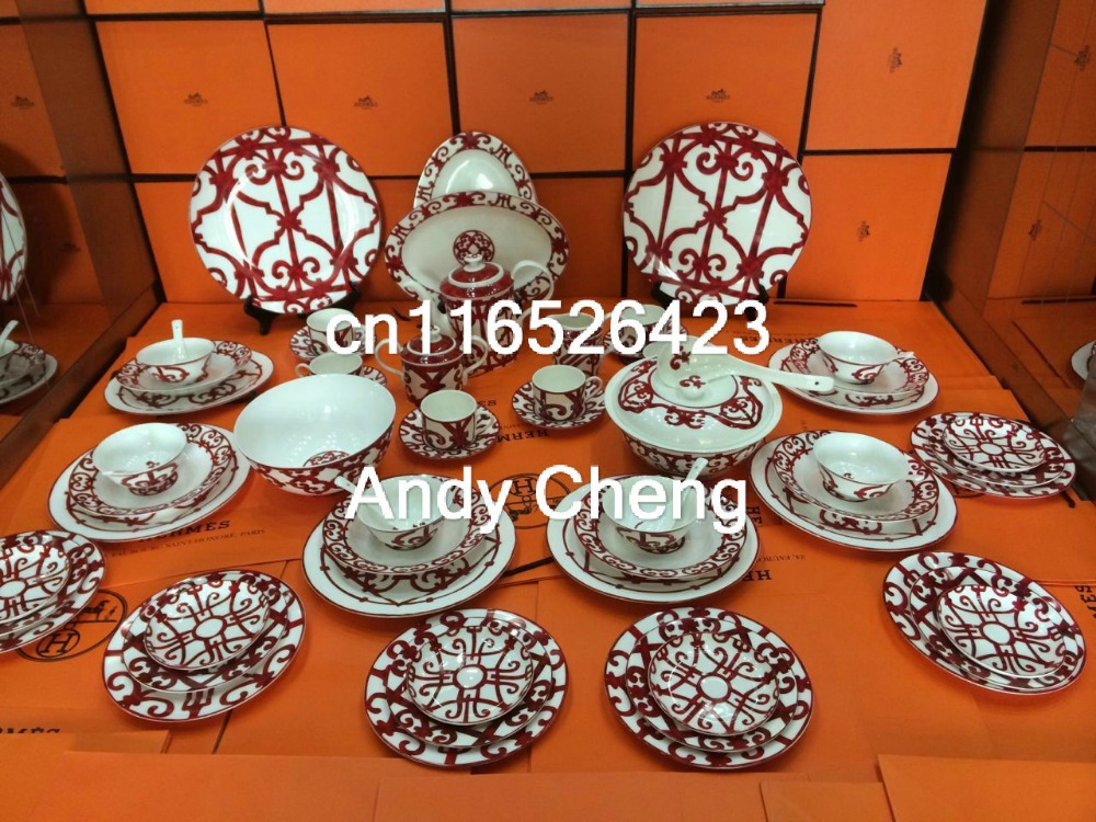 fine bone china dinner set dining room sets service for 6 in dining