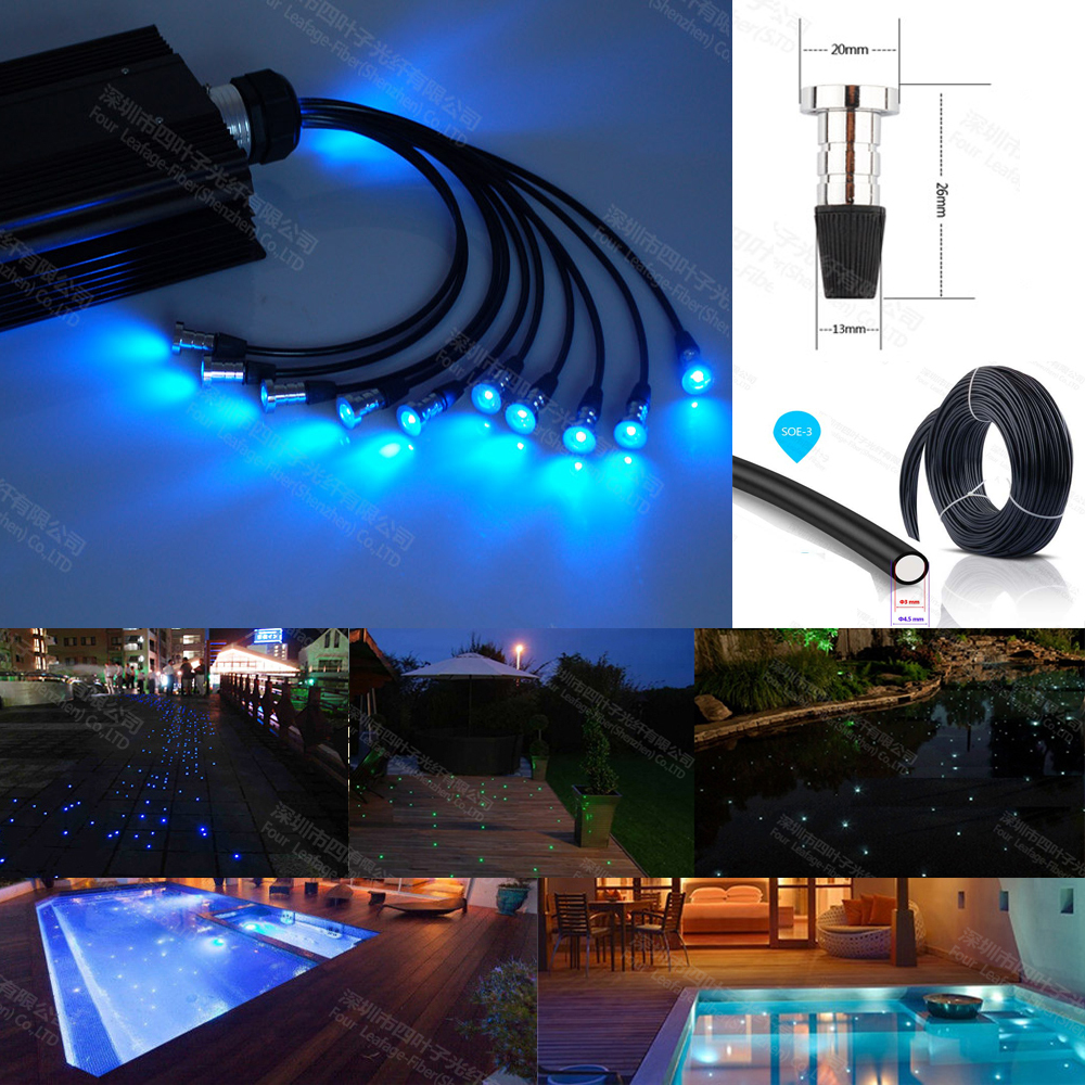 16W RGB LED Underwater Fountain Light Swimming Pool Pond ...