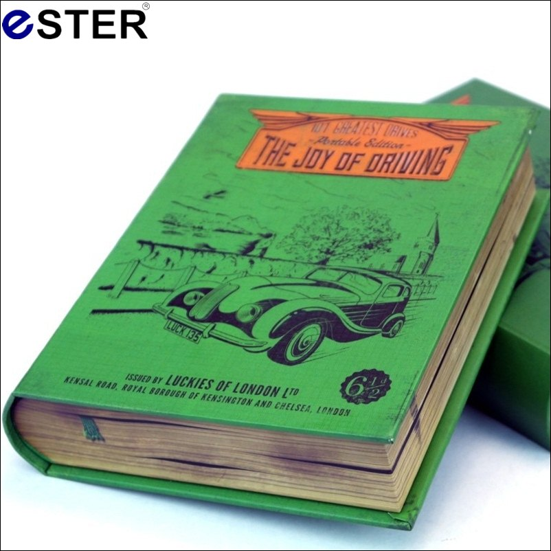 2016 New IKEA Convenient IN CAR NITO Secret Storage Vintage Book Safe The Joy Of Driving Novelty item storage box Cosmetic Cases<br><br>Aliexpress