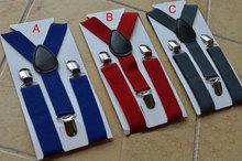 Cool Kids Boy Girls Child Clip on Suspenders Elastic Y Shape Adjustable Braces