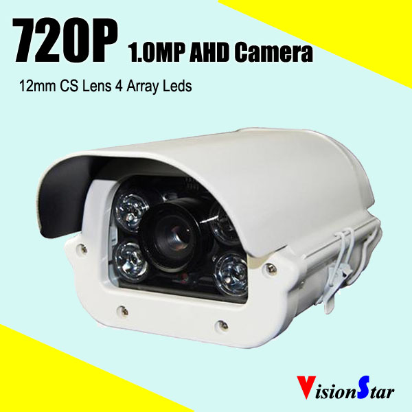 Waterproof Outdoor AHD Camera 4pcs Array Analog CCTV Camera Night Vision(China (Mainland))