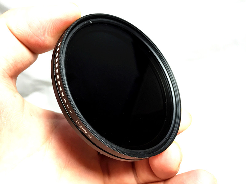 New adjustable ND filter 55mm free shipping ND2-400 filter Fader Variable ND Filter Adjustable Neutral Density Tonsee(China (Mainland))