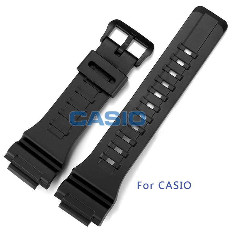 Watchbands Original For CASIO Resin Strap Watch Rubber For AQ-S810W-1A Accessories for G-SHOCK(China (Mainland))