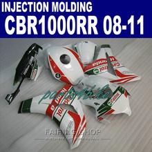 Buy CBR1000RR 2009 2008 Fairing kit Honda 2010 2011 cbr 1000rr 08 09 10 11 EMS free fairings /red lines&white/ 3 for $367.08 in AliExpress store