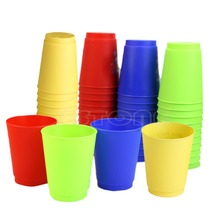 Free Shipping 12Pcs Sport Flying Stacking Christmas  Speed Gift Stacks Rapid Luminous Cups Set(China (Mainland))