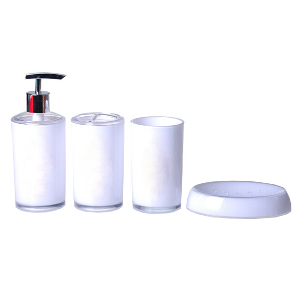 elegant bathroom sets purple black white bath accessories simple
