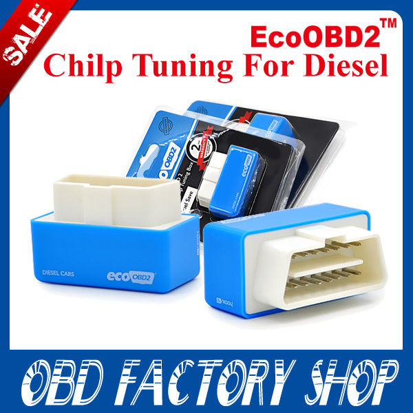 2015 new arrival Plug and Drive EcoOBD2 Economy Chip Tuning Box for Diesel Cars 15% Fuel Save OBD II(China (Mainland))