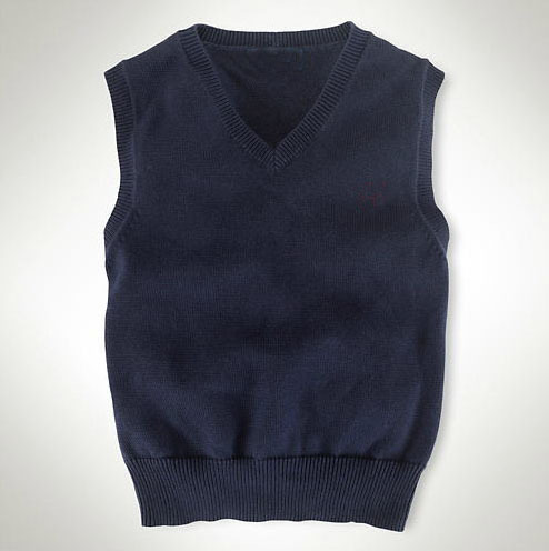 120-160cm 6-15T 2015 new autumn and winter children clothing boys sweaters students warm vest sleeveless junior large size(China (Mainland))