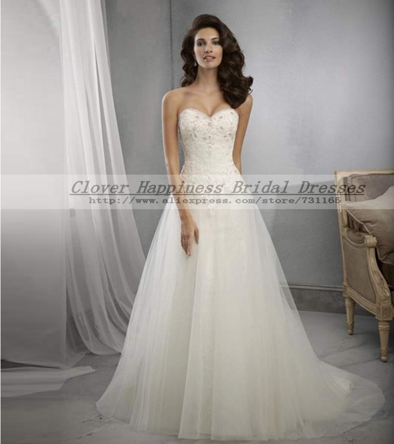 Buy vestidos de noiva 2015 cheap for Cheap fashion wedding dresses
