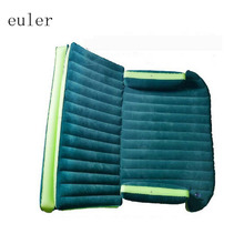 SUV Inflatable Mattress Travel Camping Car Back Seat Sleeping Rest Mattress with Air Pump car sex bed car accessories(China (Mainland))