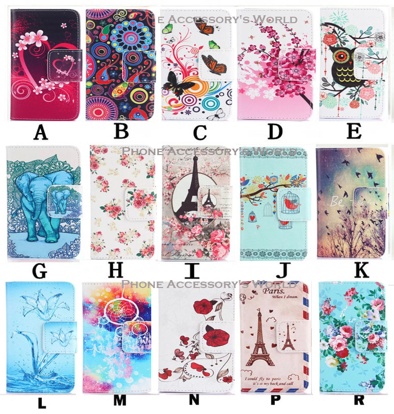 For Microsoft Nokia Lumia 730 735 Case Stand Popular Lovely Multi Pattern Flip PU Leather Cell Cases Bags Skins TPU Back Cover(China (Mainland))