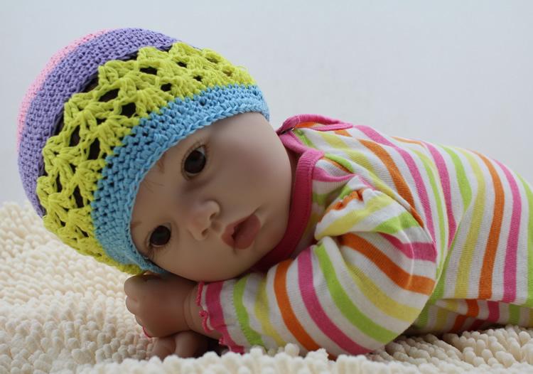 50.8cm/20inch Realistic Soft Silicone Reborn Babies Doll Stuffed Newborn Toy Handmade Baby XMAS Gift(China (Mainland))